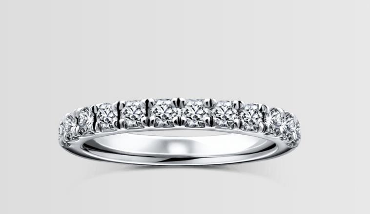 ラザールダイヤモンドのアルバの結婚指輪