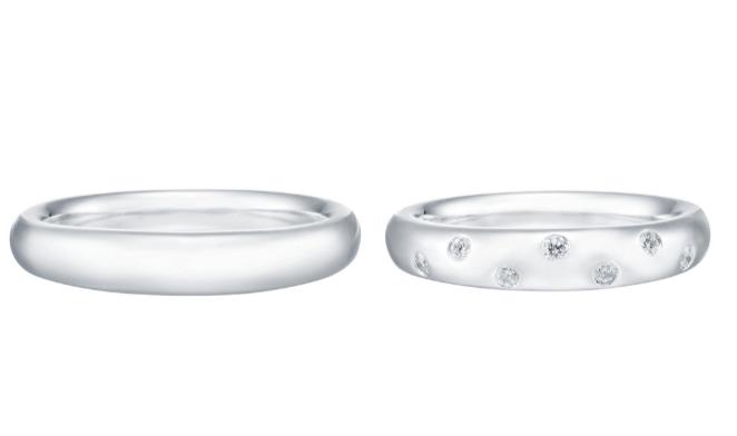 トレセンテのガルボクラシコの結婚指輪