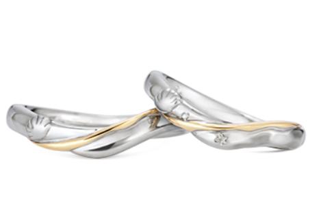 アリエルとコラボした結婚指輪のデザインまとめ