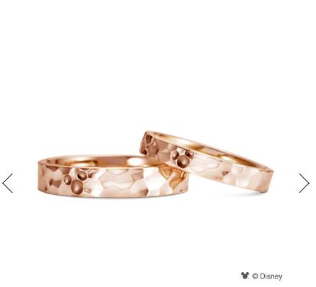 ケイウノのミッキーの結婚指輪