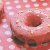 ピンクのドーナツ