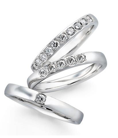 銀座ダイヤモンドシライシ指輪