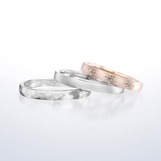 銀座ダイヤモンドシライシ ゴールドの結婚指輪