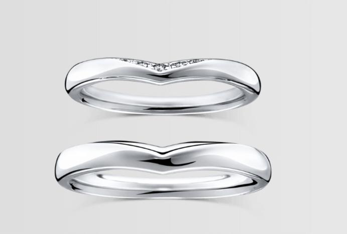 ラザールダイヤモンドのティリアの結婚指輪