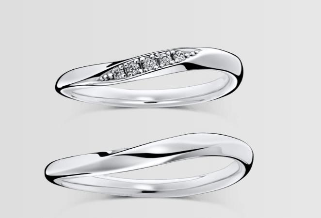 ラザールダイヤモンドのオーチャードの結婚指輪