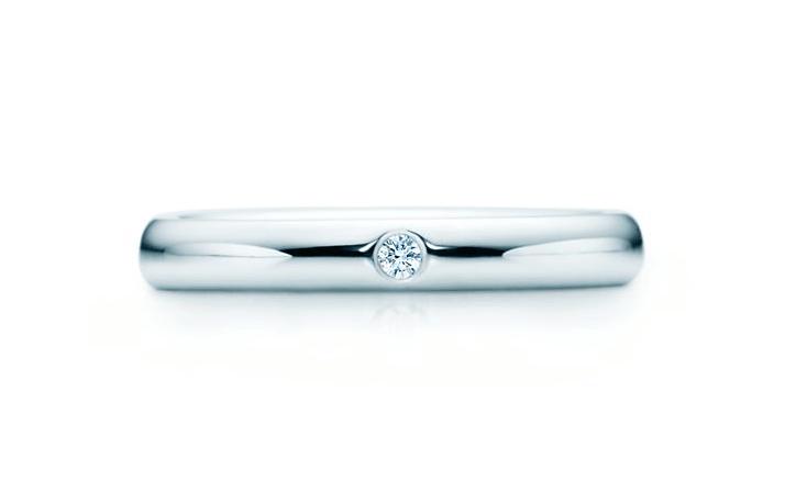 エルサ・ペレッティ バンドリング ダイヤモンド プラチナ Tiffany Co