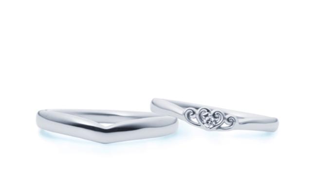 4-bridalのシンデレラの結婚指輪