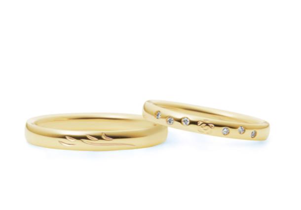 4-bridalの美女と野獣の結婚指輪