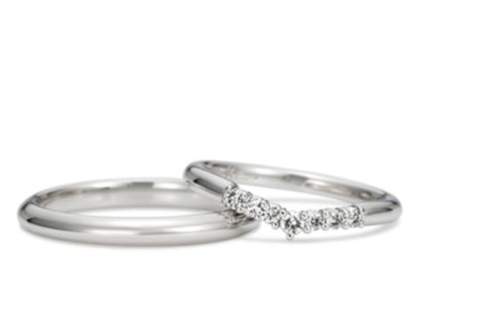 ケイウノの白雪姫の結婚指輪