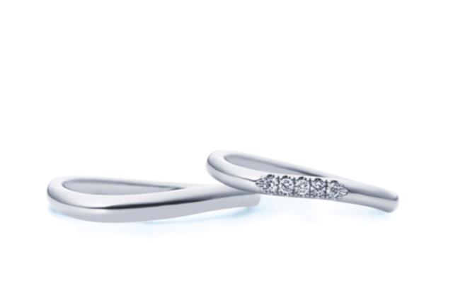 4-bridalのテンダーハートの結婚指輪