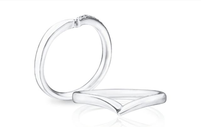 トレセンテのフローラオルキデーアの結婚指輪