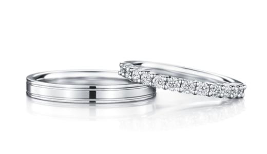 アイプリモのハーフエタニティの結婚指輪