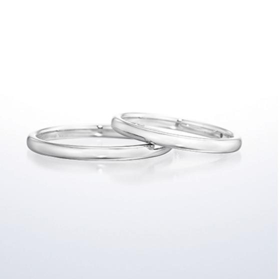 銀座ダイヤモンドシライシのアノリューの結婚指輪
