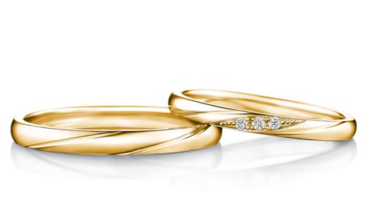 アイプリモのイエローゴールドの結婚指輪