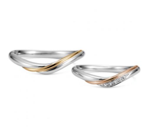 ケイウノのルミナーレの結婚指輪