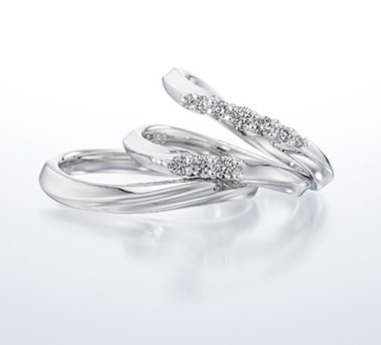 銀座ダイヤモンドシライシシェルビーナスの結婚指輪