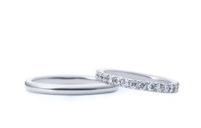 4-bridalのフルエタニティの結婚指輪