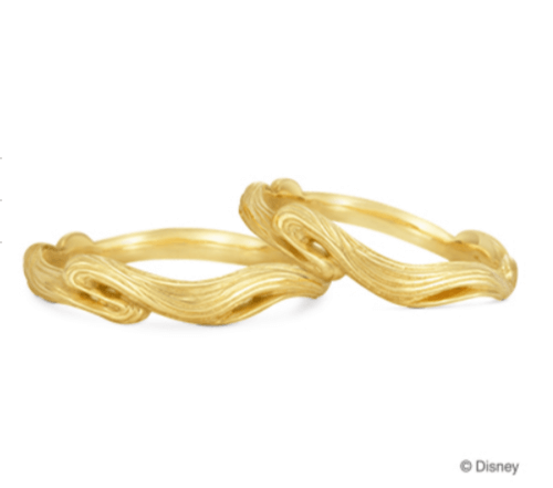 ケイウノのラプンツェルの結婚指輪