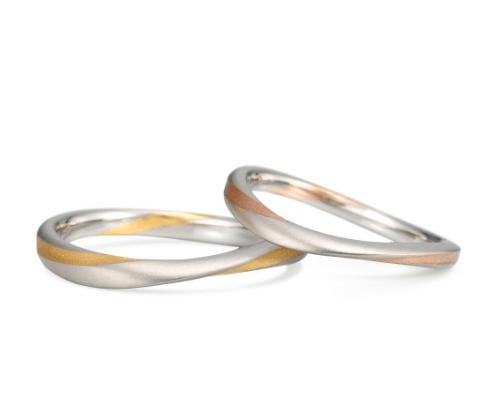 ケイウノのメビウスの結婚指輪