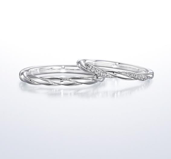 銀座ダイヤモンドシライシのタイムレスラブの結婚指輪