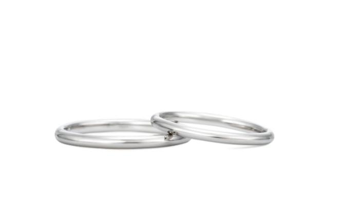 ケイウノのハピネスクラウンの結婚指輪