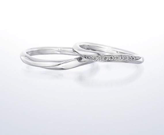 銀座ダイヤモンドシライシのスターリーの結婚指輪